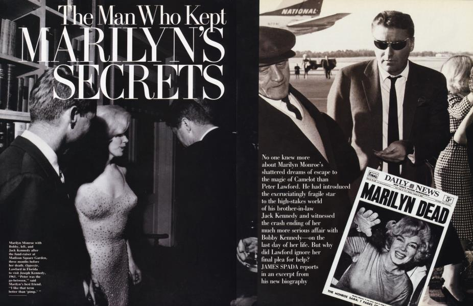 The Man Who Kept MARILYN'S SECRETS