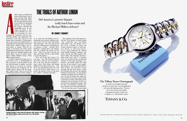 THE TRIAIS OF ARTHUR LIMAN