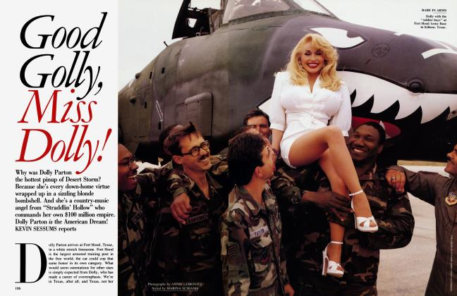 Article Preview: Good Golly, Miss Dolly!, June 1991 | Vanity Fair