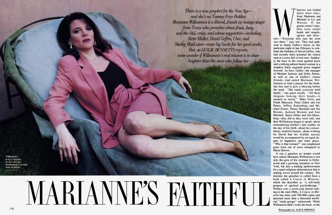 Article Preview: MARIANNE'S FAITHFUL, June 1991 1991 | Vanity Fair