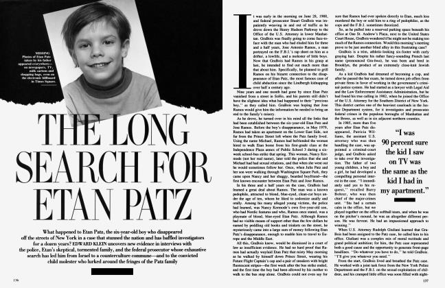 Article Preview: THE LONG SEARCH FOR ETAN PATZ, June 1991 | Vanity Fair