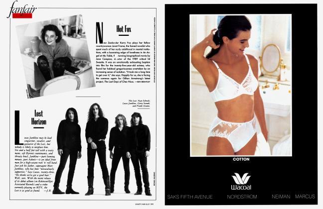 Article Preview: Lost Horizon, July 1991 1991 | Vanity Fair