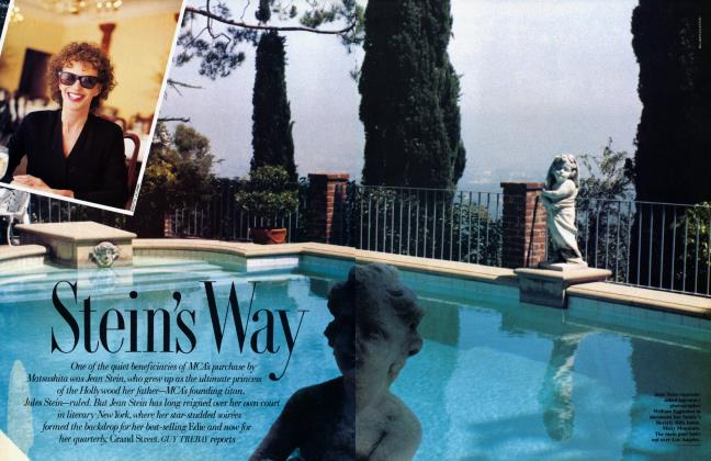 Article Preview: Stein's Way, July 1991 1991 | Vanity Fair