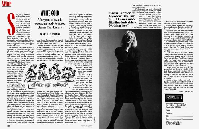 Article Preview: WHITE GOLD, July 1991 1991 | Vanity Fair