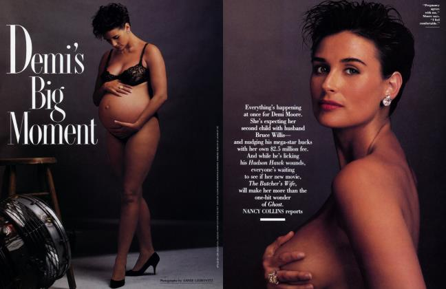 Article Preview: Demi's Big Moment, August 1991 1991 | Vanity Fair