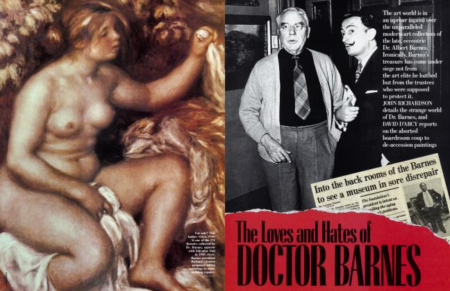 The Loves end Hates of DOCTOR BARNES