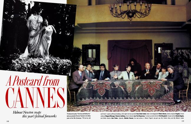 Article Preview: A Postcard from CANNES, August 1991 1991 | Vanity Fair