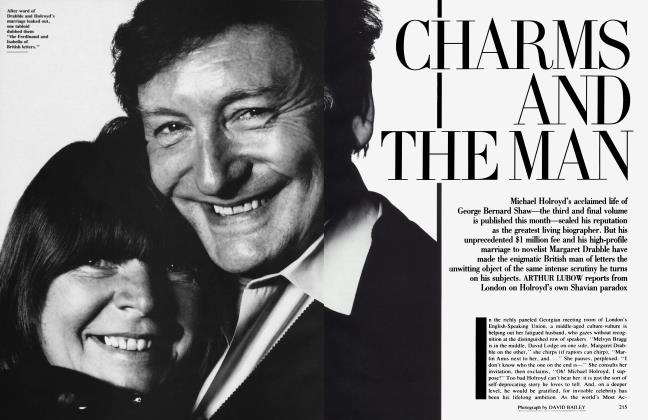 Article Preview: CHARMS AND THE MAN, September 1991 | Vanity Fair
