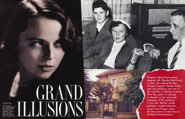 Article Preview: GRAND ILLUSIONS, September 1991 | Vanity Fair