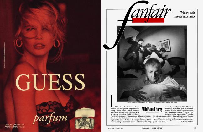 Article Preview: Wild About Harry, September 1991 1991   Vanity Fair