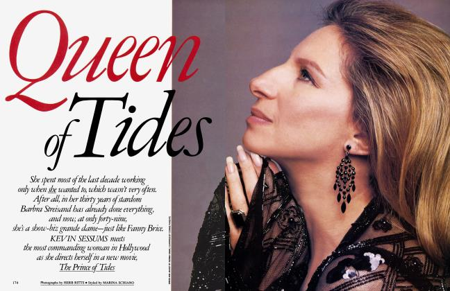 Article Preview: Queen of Tides, September 1991 1991 | Vanity Fair