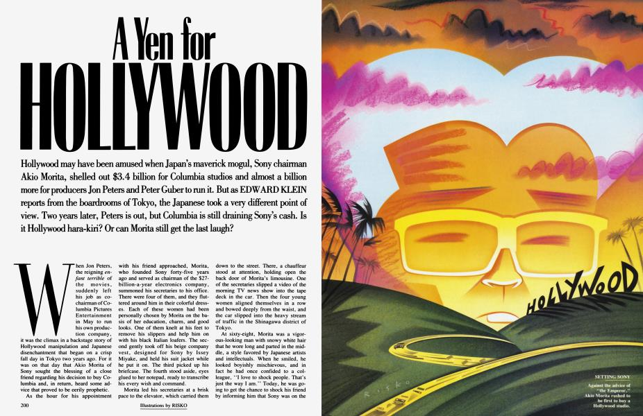 A Yen for HOLLYWOOD