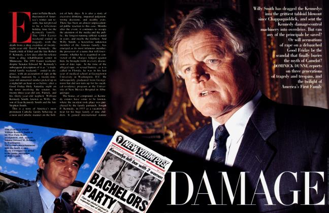 Article Preview: DAMAGE, October 1991 | Vanity Fair