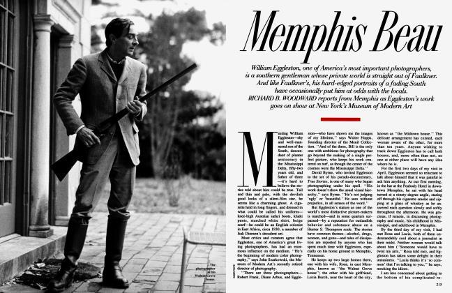 Article Preview: Memphis Beau, October 1991 | Vanity Fair
