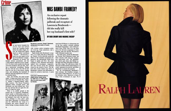 Article Preview: WAS BAMBI FRAMED?, October 1991 | Vanity Fair
