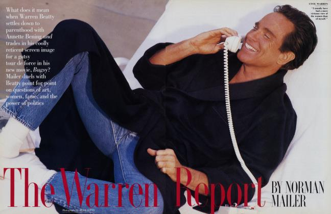 Article Preview: The Warren Report, November 1991 | Vanity Fair