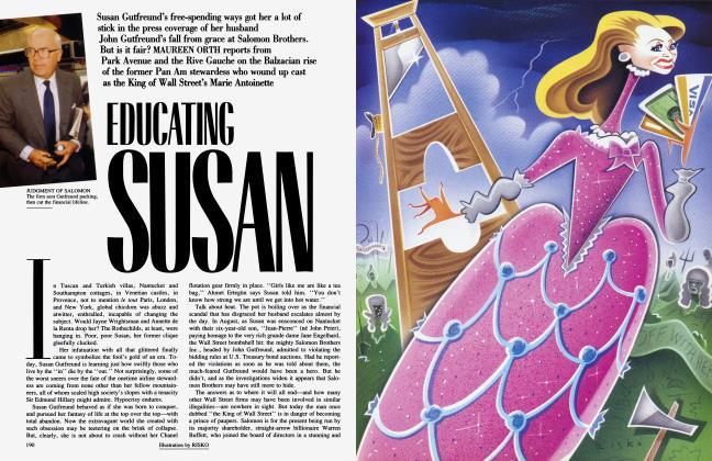 Article Preview: EDUCATING SUSAN, November 1991 1991 | Vanity Fair