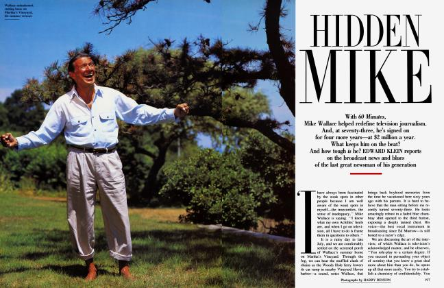 Article Preview: HIDDEN MIKE, November 1991 | Vanity Fair