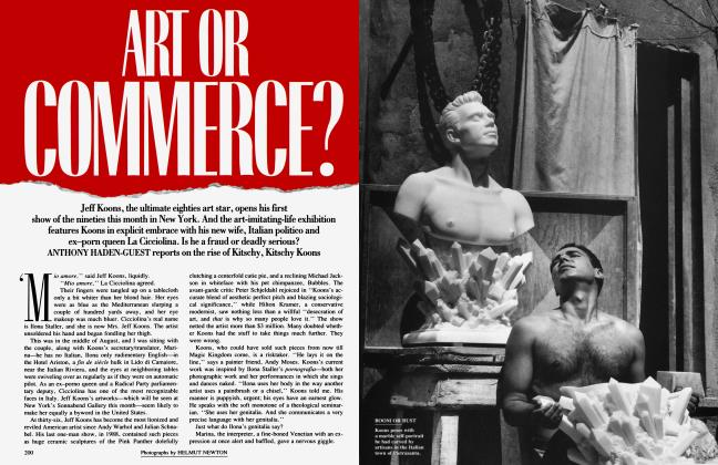 Article Preview: ART OR COMMERCE?, November 1991 1991 | Vanity Fair