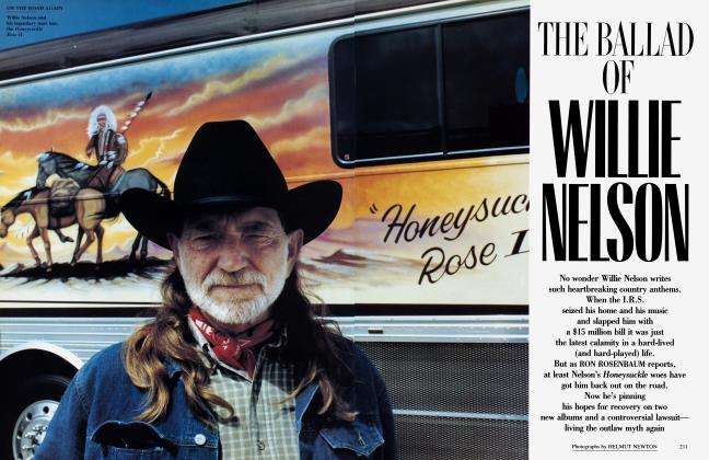 Article Preview: THE BALLAD OF WILLIE NELSON, November 1991 | Vanity Fair