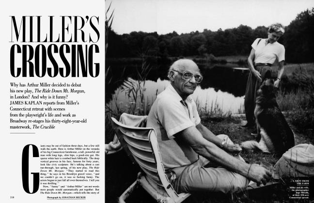 Article Preview: MILLER'S CROSSING, November 1991 | Vanity Fair