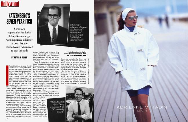 Article Preview: KATZENBERG'S SEVEN-YEAR ITCH, November 1991 | Vanity Fair