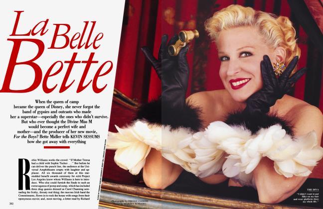 Article Preview: La Belle Bette, December 1991 | Vanity Fair