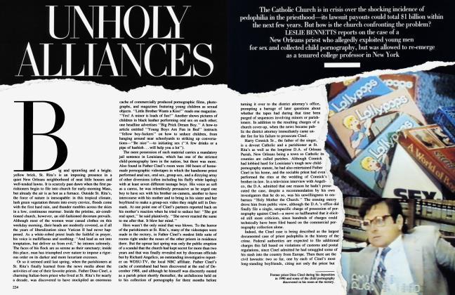 Article Preview: UNHOLY ALLIANCES, December 1991 1991 | Vanity Fair