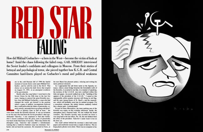 Article Preview: RED STAR FALLING, December 1991 | Vanity Fair