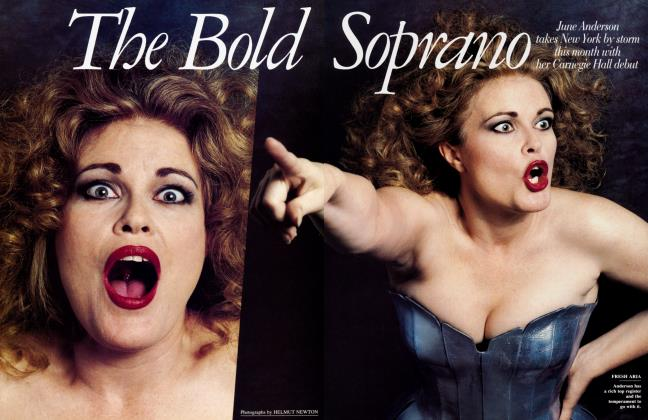 Article Preview: The Bold Soprano, December 1991 1991 | Vanity Fair