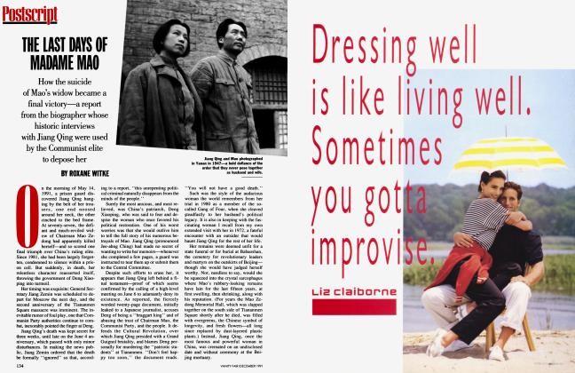 Article Preview: THE LAST DAYS OF MADAME MAO, December 1991 | Vanity Fair