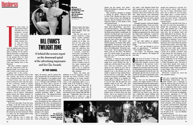 Article Preview: BILL EVANS'S TWILIGHT ZONE, January 1992 | Vanity Fair