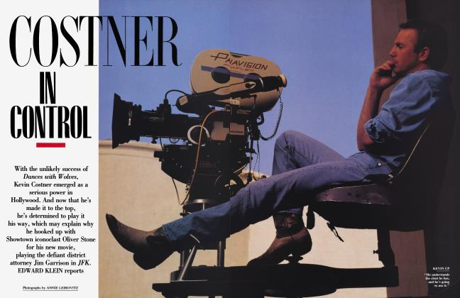 Article Preview: COSTNER IN CONTROL, January 1992 1992 | Vanity Fair