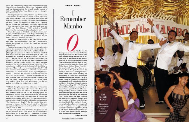 Article Preview: I Remember Mambo, January 1992 1992 | Vanity Fair