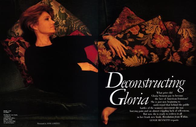 Article Preview: Deconstructing Gloria, January 1992 1992 | Vanity Fair