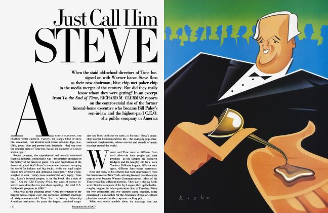 Article Preview: Just Call Him STEVE, January 1992 | Vanity Fair