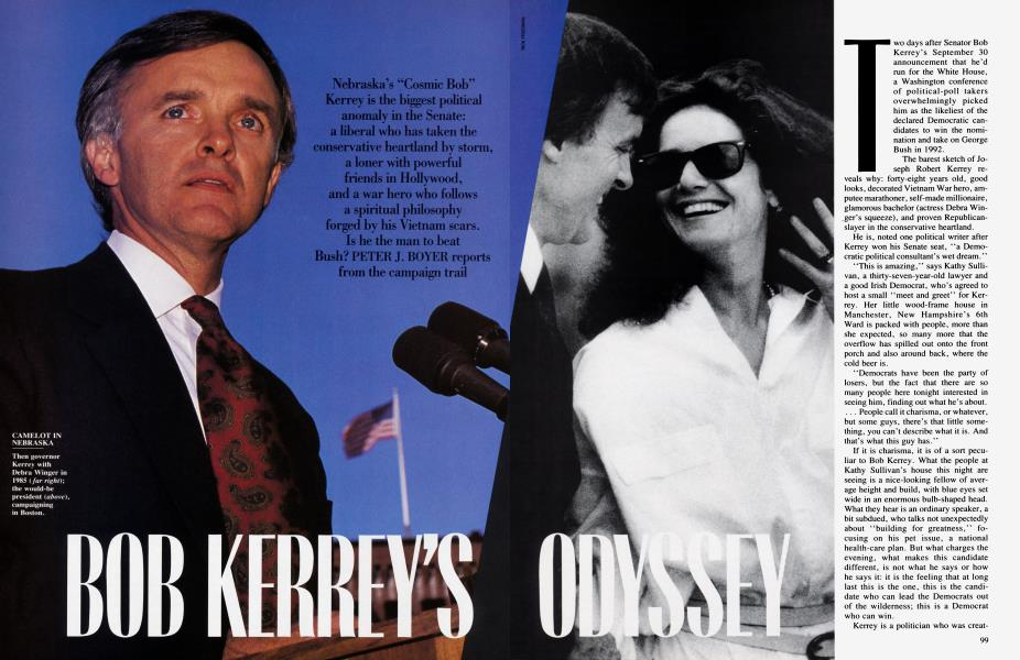 BOB KERREY'S ODYSSEY