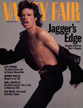 February 1992 | Vanity Fair