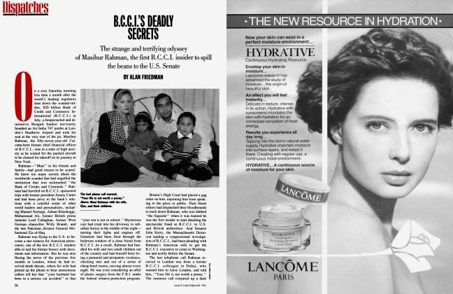 Article Preview: B.C.C.I.'S DEADLY SECRETS, February 1992 1992 | Vanity Fair
