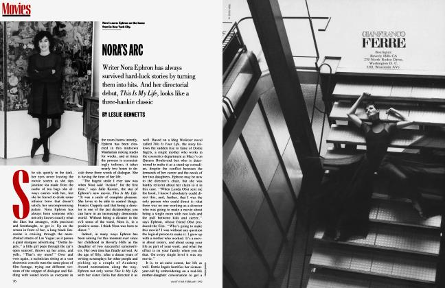 Article Preview: NORA'S ARC, February 1992 | Vanity Fair