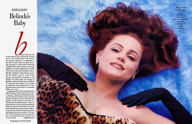 Article Preview: Belinda's Baby, February 1992 1992 | Vanity Fair