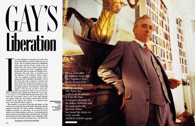 Article Preview: GAY'S Liberation, February 1992 | Vanity Fair