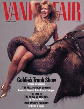 March 1992 | Vanity Fair