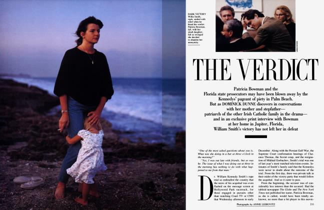 Article Preview: THE VERDICT, March 1992 1992 | Vanity Fair