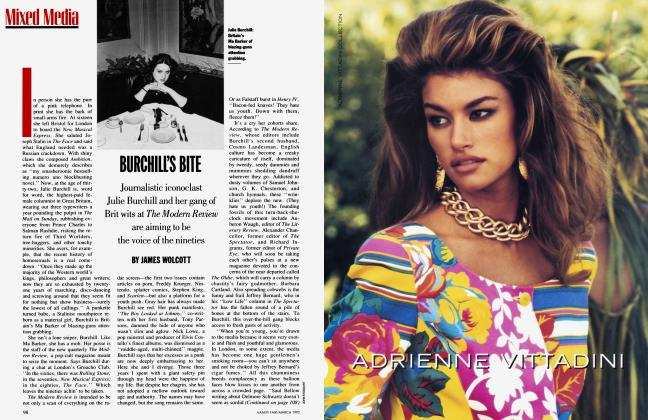 Article Preview: BURCHILL'S BITE, March 1992 1992 | Vanity Fair