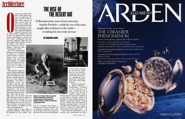 Article Preview: THE RISE OF THE DESERT RAT, March 1992 1992 | Vanity Fair