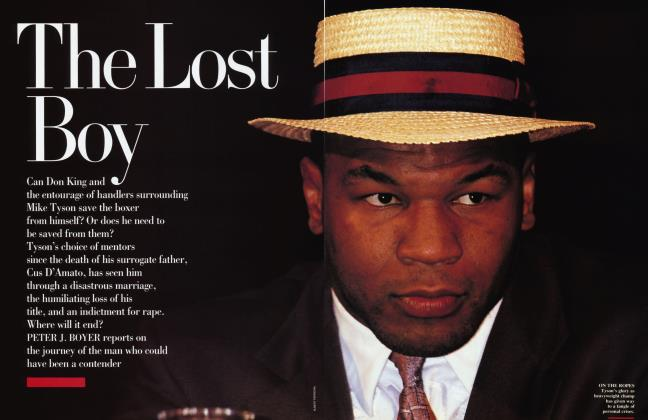 Article Preview: The Lost Boy, March 1992 1992 | Vanity Fair