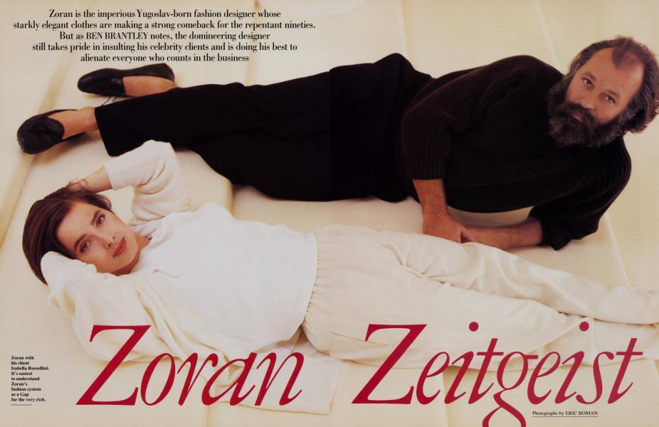 Zoran Zeitgeist