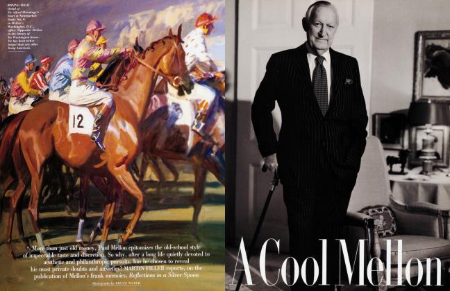 Article Preview: A Cool Mellon, April 1992 | Vanity Fair