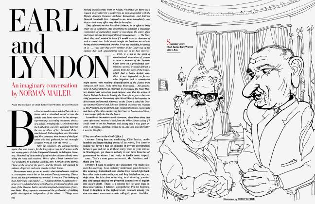 Article Preview: EARL and LYNDON, April 1992 1992 | Vanity Fair